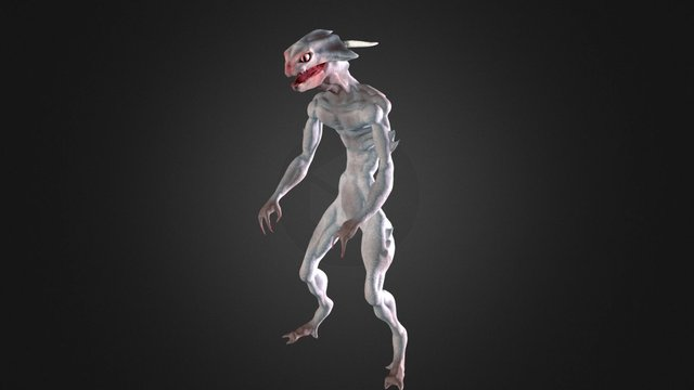Space Monster 3D Model