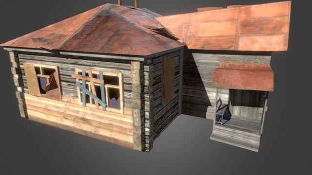 Russian Home 03 3D Model