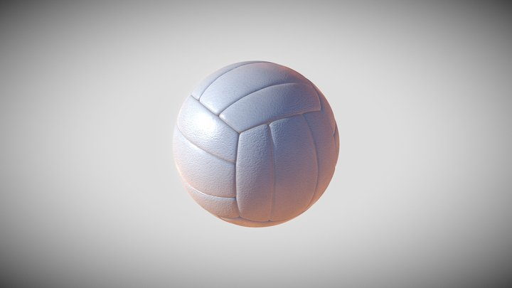 Volleyball 3D Model