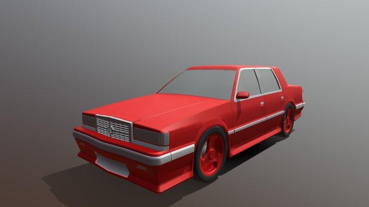 1993 Dynasty R/T AWD Twin Turbo 3D Model