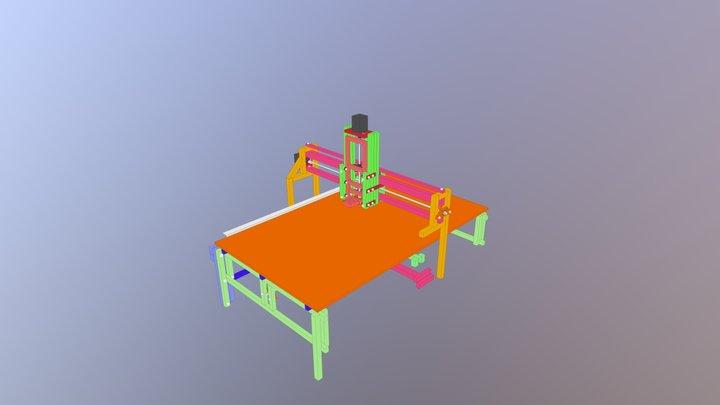Machinati X3 3D Model