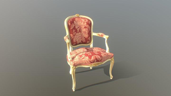 30daysinVR Turin Belle Epoque Chair 3D Model