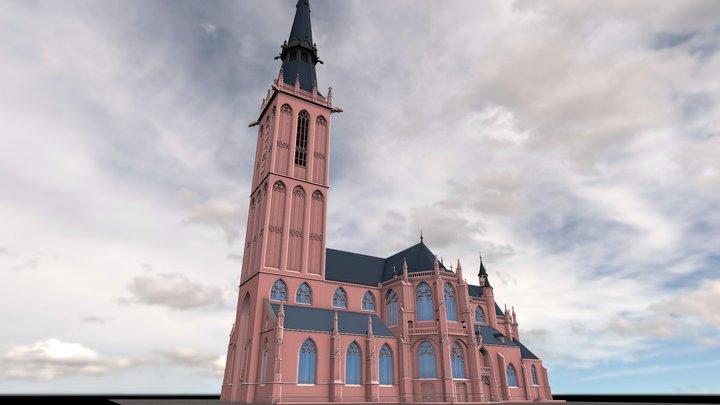 Annakirche1944 3D Model