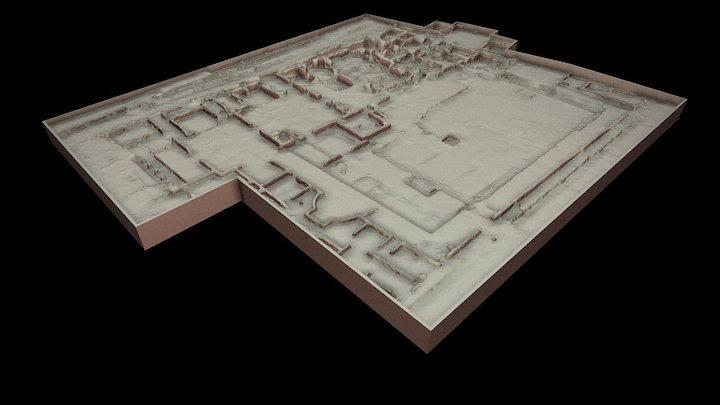 Archaeological Site 3D for Metateca Project 3D Model