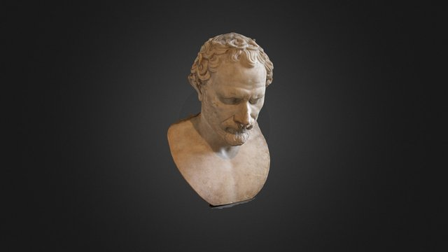 Louvre Demosthenes (PhotoScan) 3D Model