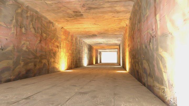 Tunnel 3 3D Model