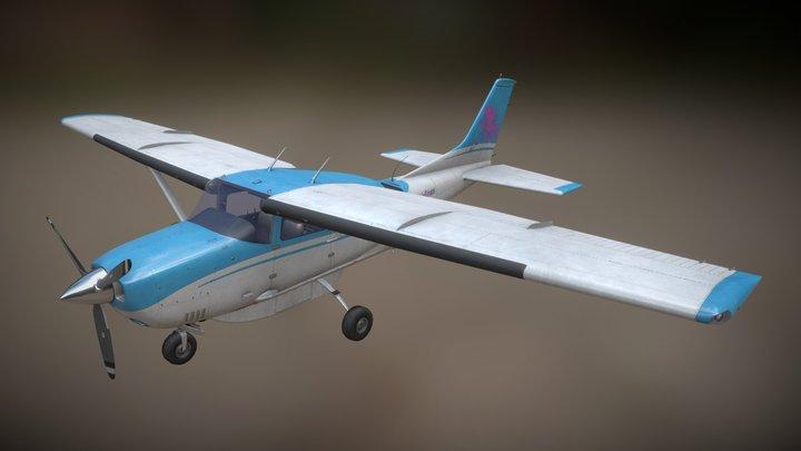 Cessna 206 3D Model