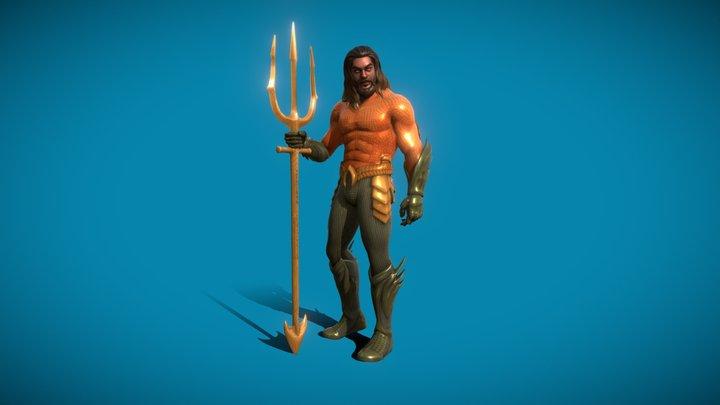 Fortnite Aquaman   Chapter 2 Season 3 BP Skin   3D Model