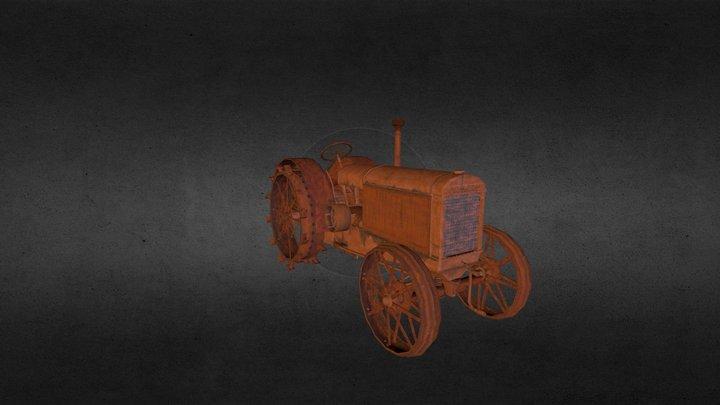 McCormick-Deering Tractor 3D Model