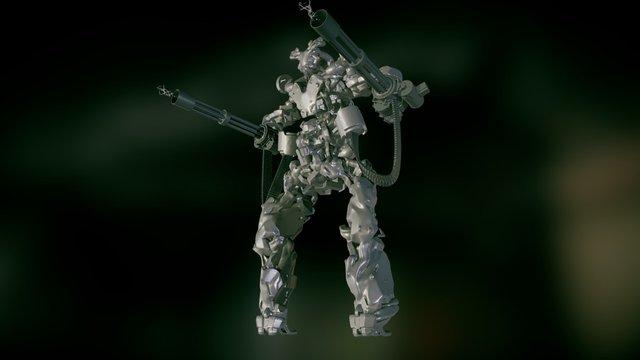 Kinetic Robotic vs insurgent 3D Model