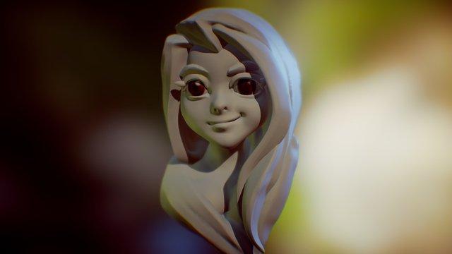 speed sculpt Head 30min 3D Model