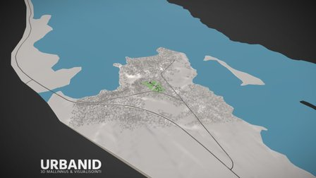 Raanujärven asuntoalue 3D Model