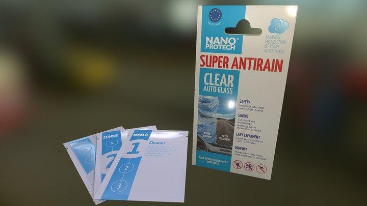 Nanoprotech Super Antirain 3D Model
