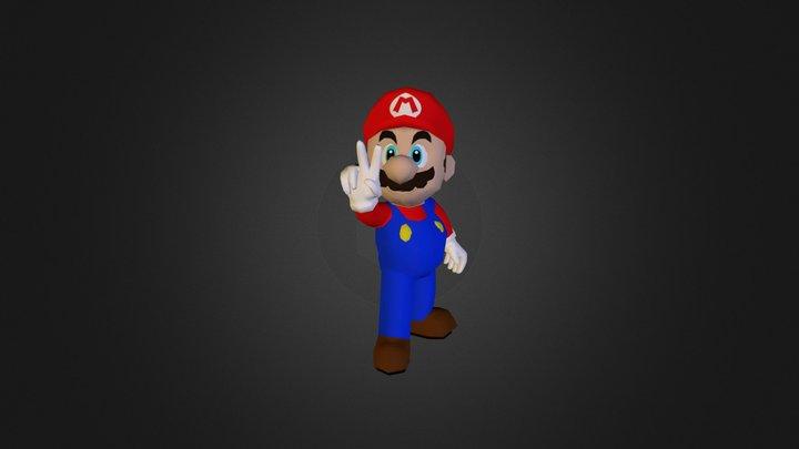 Mario GC 3D Model