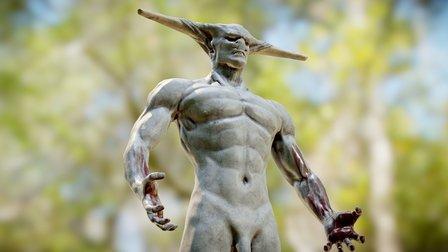 Selknam demon 3D Model