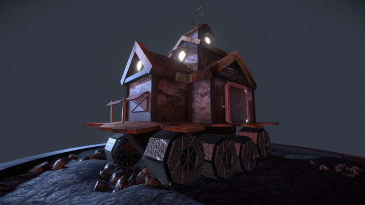 """""""Home"""" Inspired by Mortal Engines 3D Model"""