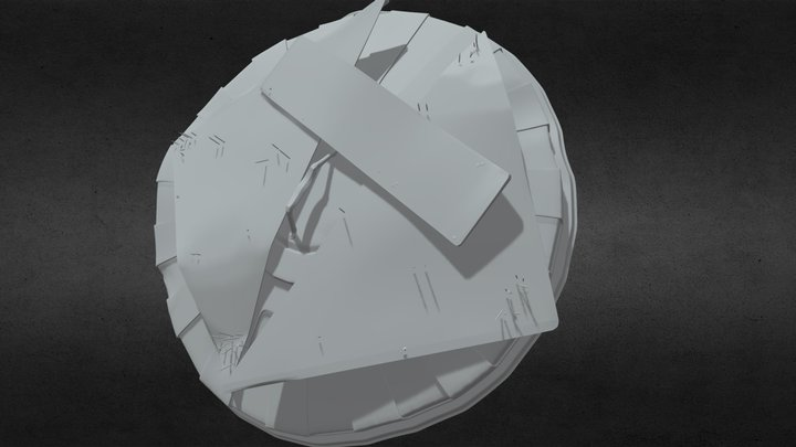 Shield Post Apo 3D Model