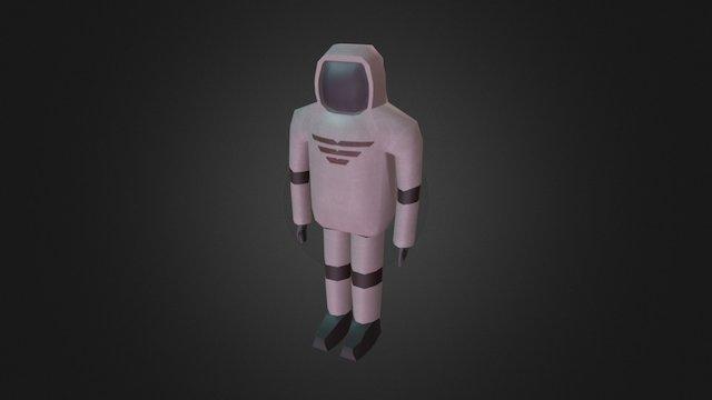 Space Suit [Spaceship Indweller] 3D Model