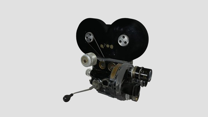 Caméra 35 mm Bell and Howell 2709 3D Model