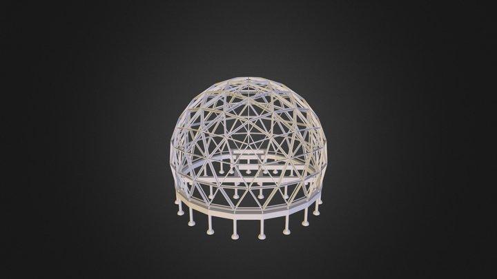 Dome Home Frame 3D Model