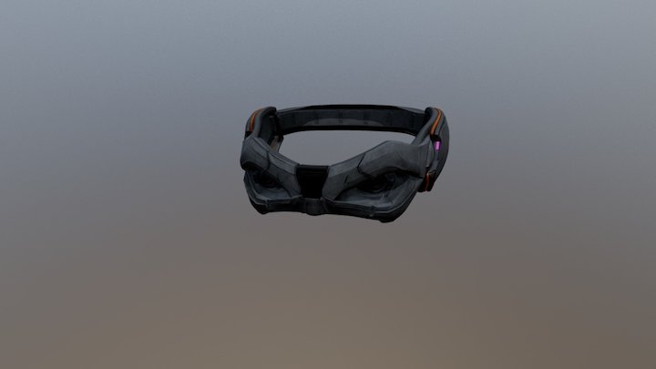 ConceptArt the Mask 3D Model