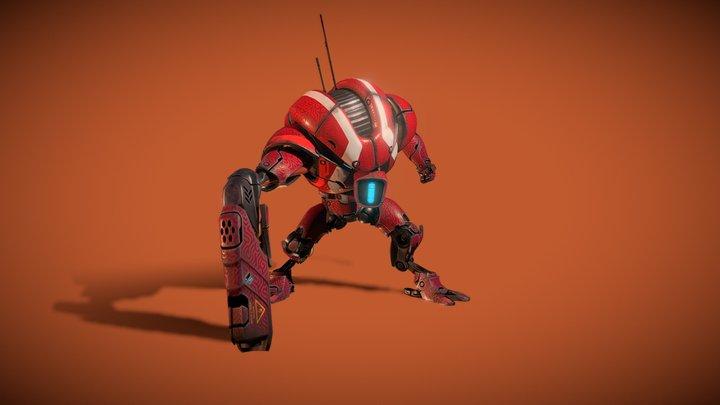 Shocker 204 3D Model