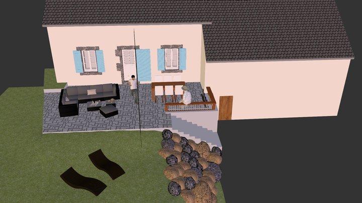 terrasse 3D Model