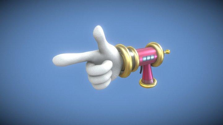 Disgaea Gun - Love Shot Gun 3D Model