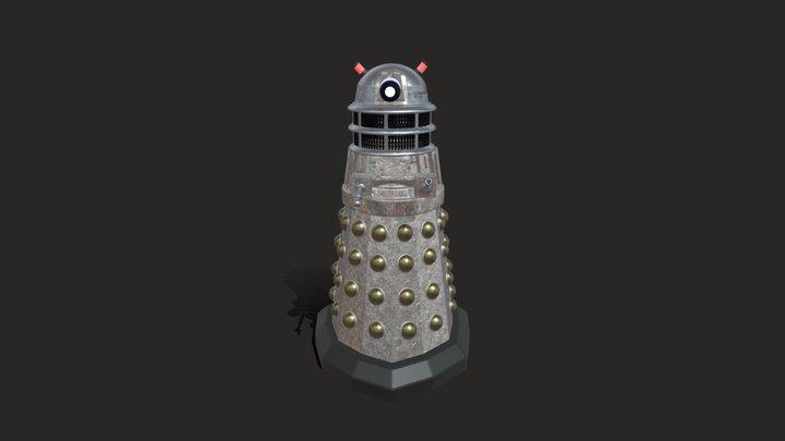 Dalek Sketchfab 3D Model
