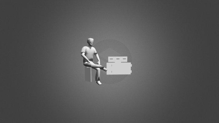 HTAB 3D Model