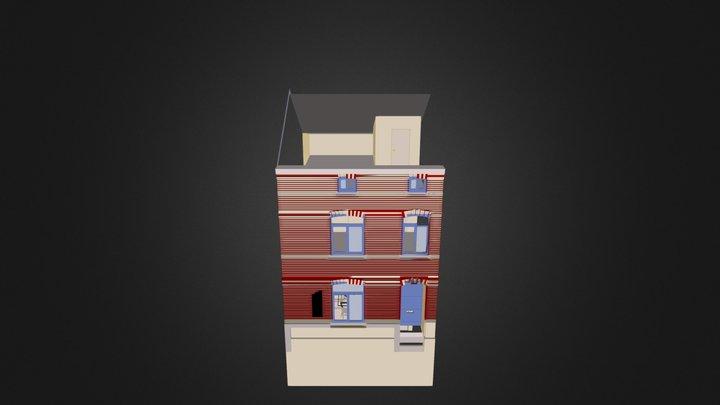 Annexe à Theux 3D Model