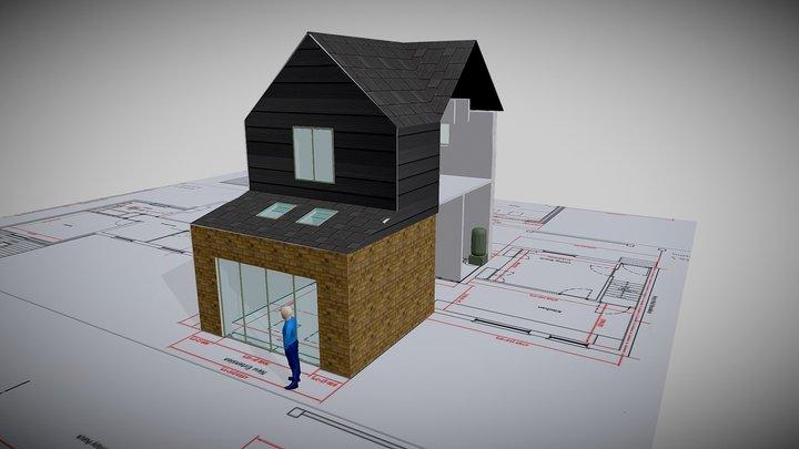 Olive Tree Cottage V1 3D Model