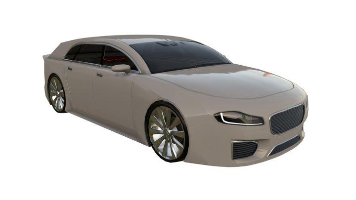 SHC MC Free Promotion Car 3D Model