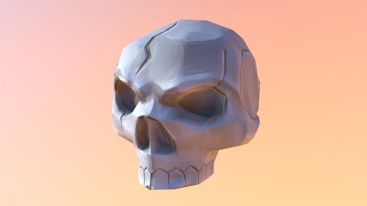 Skull Low 3D Model