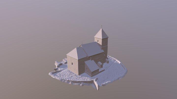 Mecseknádasd Szent István kápolna 3D Model