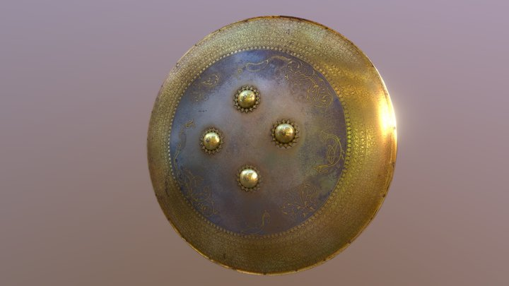 Lahore Shield (Royal Armouries Museum) 3D Model