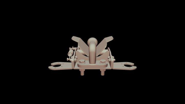 Swivel- Alco Hitch- Assembly 3D Model