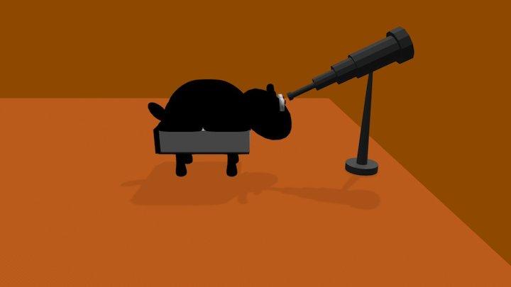 Episodenbild - Einschlafen-Podcast 3D Model