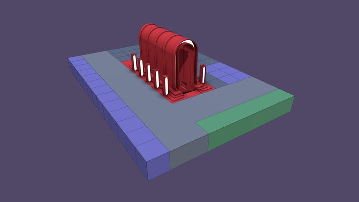VARC_Scene 3_Arch 3D Model