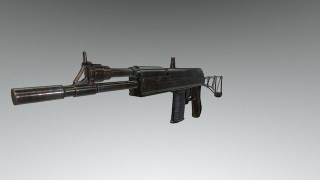 No_name_weapon_5.45 3D Model