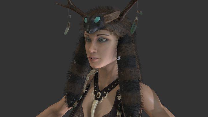 Druid 3D Model