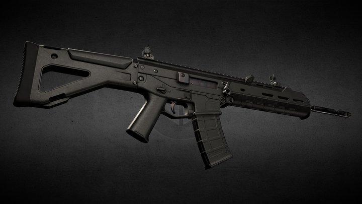 Assault rifle Bushmaster ACR 3D Model