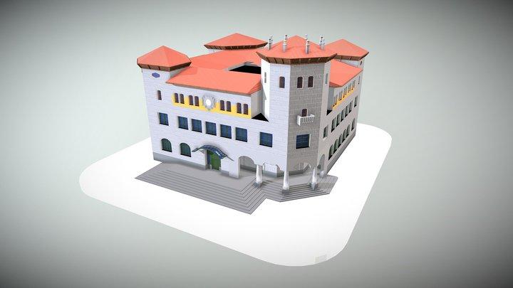 Edificio Correos 3D Model