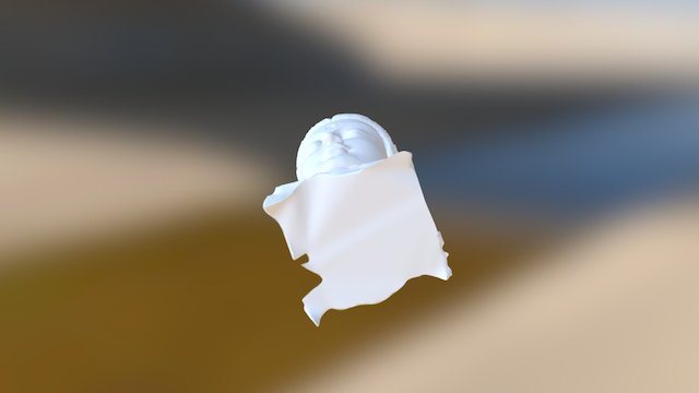 Head Of Guanyin 3D Model