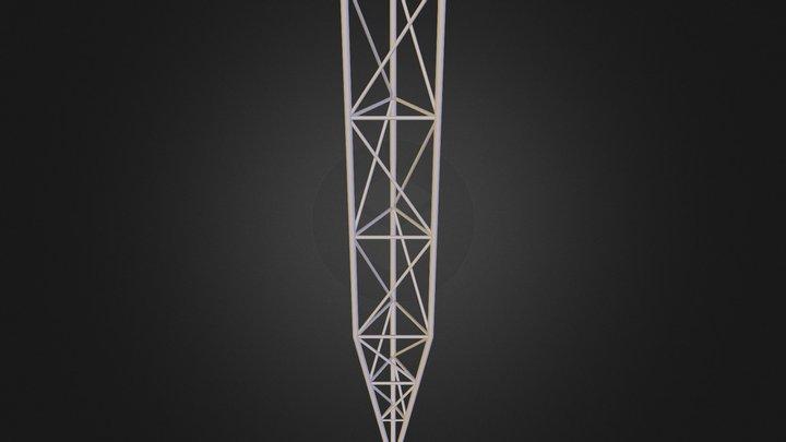 mkrS4m schodzony 3D Model