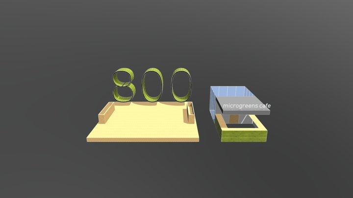 800 3D Model