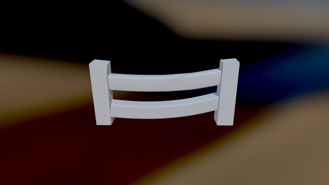 Fence 0003 3D Model