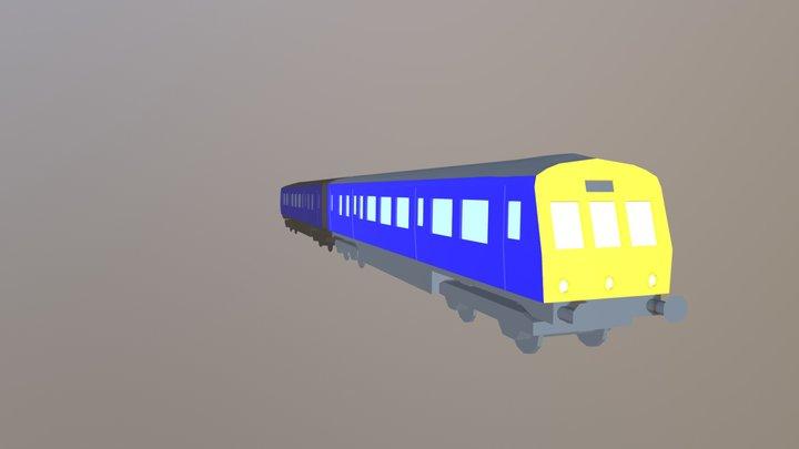 British Rail Class 101 3D Model