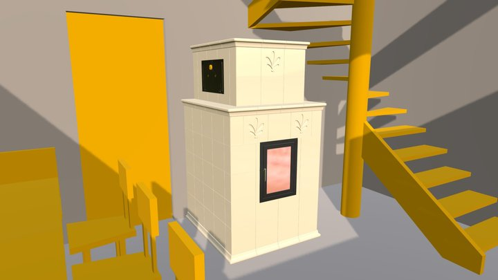 Kamna Faberovi ver.03 Lilie 3D Model