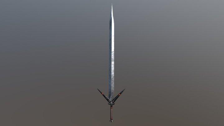 AAA Swords Pack - Shark 3D Model
